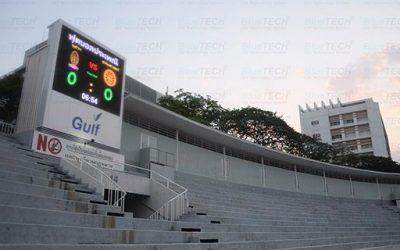 งานติดตั้งจอ LED Full Color สำหรับงาน Scoreboard สนามกีฬาจุฬาลงกรณ์มหาวิทยาลัย