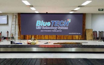 งานติดตั้งจอ LED Full Color Indoor เวียงจันทร์ ประเทศลาว